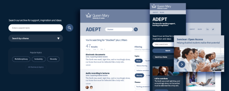 Adept Queen Mary University of London